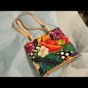 Summer Spring Fruit & Flower purse
